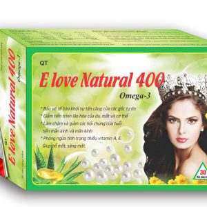 ELOVE NATURAL 400IU
